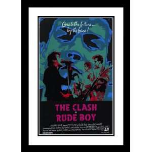 Rude Boy 20x26 Framed and Double Matted Movie Poster
