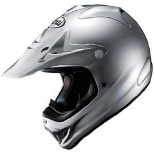 Arai VXPRO3 Offroad Motorcycle Riding Racing Helmet  Aluminium Silver
