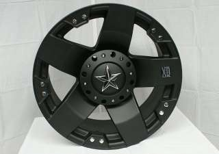 20 Inch XD Rockstar Wheels Rim & Tire Package 275/55