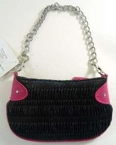 Pink Cocktail Clutch Handbag Bag Purse by Skin Rock Evening Girly NEW