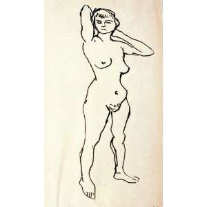 Albert Marquet   24 x 42 inches   Desnudo de pie: Home & Kitchen