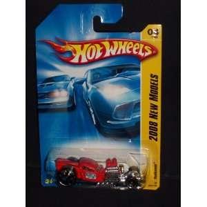 2008 Hot Wheels Rat Bomb 04/40 Toys & Games