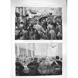 1886 QUEEN LIVERPOOL MAYOR BANQUET BEECHAMS PILLS