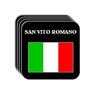 Italy   SAN VITO ROMANO Set of 4 Mini Mousepad Coasters