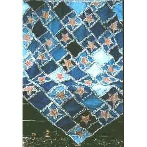 Glory Rag Quilt Pattern by Bonnie B Buttons: Arts, Crafts & Sewing