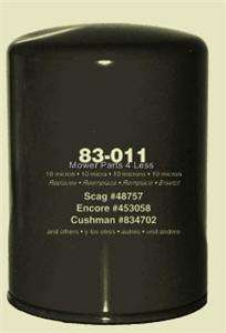 Transmission filter SCAG 48758 + Cushman Encore Deweze