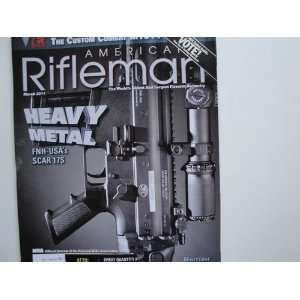 American Rifleman Magazine March 2011 (Heavy Metal) Books