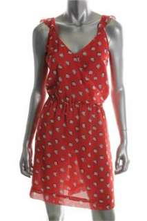 FAMOUS CATALOG Moda Pink Casual Dress Polka Dot Sale L