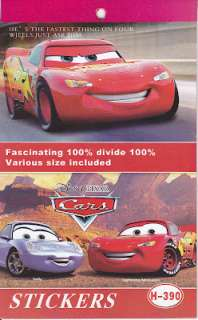 Disney Cars Birthday Party Card Favour 82 Stickers Book