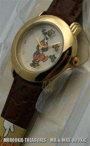 Brand   New Disney Ladies Tigger & Friends Gold Tone Watch HTF