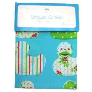 Retro Duck Design Printed Shower Curtain BAC095993 Kitchen