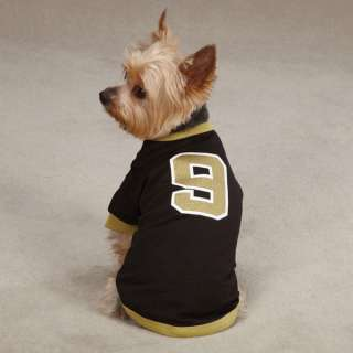 Casual K9 Brew Brees Dog Jersey Leader of the Pack Saints Pet Shirt