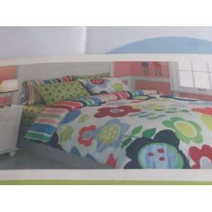 Circo Twin Complete Bed Set Flower Garden