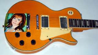 Reba McEntire Autographed Signed Keep On Loving You Guitar UACC RD COA