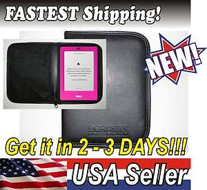NEW E reader Protector Case Cover BORDERS Kobo,  Kindle & Fire
