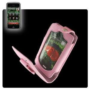 Reiko LC001 IPHONEPK Leather Case for Apple iPhone   Pink