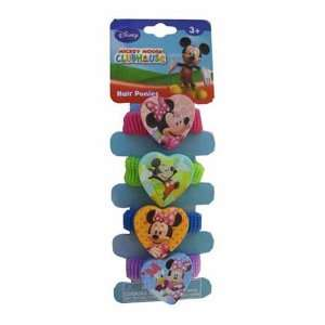 Ponies   Mickey and Minnie Mouse PonyTails (4 Piece) Toys & Games