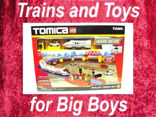HYPERCITY BULLET TRAIN SET Road Pla Rail Plarail Cars Tomy 70587 New i