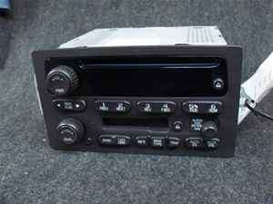 GMC Chevy Cadillac Hummer Cassette CD Radio LKQ