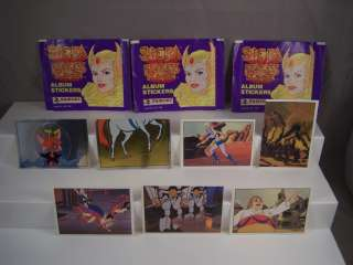 Album Sticker Lot Masters of the Universe MOTU He Man She Ra 1