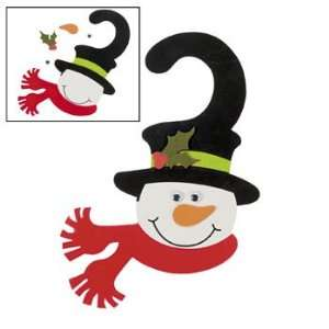 Snowman Door Hanger Craft Kit   Craft Kits & Projects