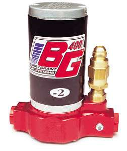 BG BARRY GRANT 220 280 400 FUEL PUMP REBUILD SERVICE