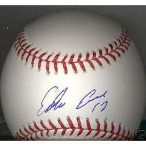 Edwin Encarnacion Reds Signed Official Ml Ball   Autographed Baseballs