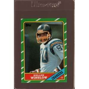 1986 Topps Football San Diego Chargers Team Set