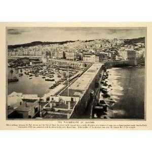 Algeria Bab Zoun Bab el Oued   Original Halftone Print