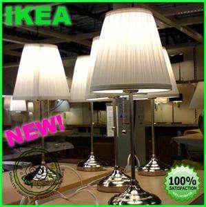 ikea alang gray or white modern table desk lamp light. Black Bedroom Furniture Sets. Home Design Ideas