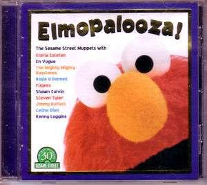 ELMOPALOOZA Sesame Street 1998 CD Elmo Kermit & Ernie 074646343227
