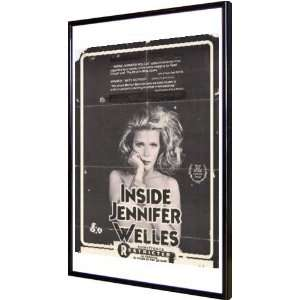 Inside Jennifer Welles 11x17 Framed Poster  Home
