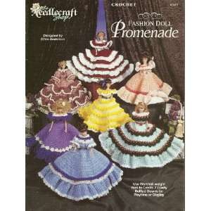 The Needlecraft Shop Crochet Fashion Doll Promenade (971011) Books
