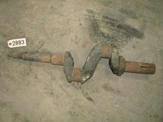 John Deere B Tractor Engine Crank Shaft ID2883