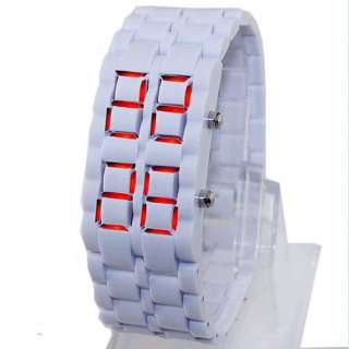 design sports casual watch band material plastic watch face size 2