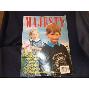 MAGAZINE, VOL 12, NO 9, SEP. 1991 (PRINCE HARRY & PRINCESS BEATRICE