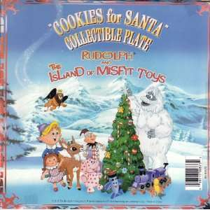 Rudolph and The Island of Misfit Toys Cookies for Santa