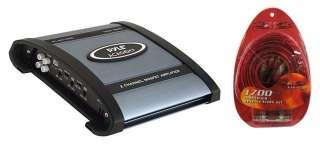 PYLE 1000 WATT 2/1 CHANNEL CAR STEREO AMPLIFIER+AMP KIT