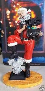 Harley Davidson Santa Figurine 1996 Something For Everyone MIB