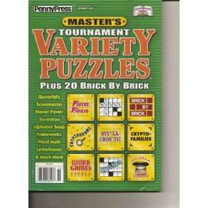 Variety Puzzles Magazine (Penny Press, Spring 2010) Various Books