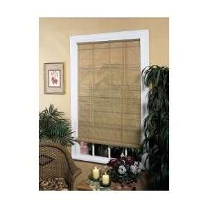 Lewis Hyman 0321266 Oval Vinyl Roll up Blind 6x6   Wood Grain