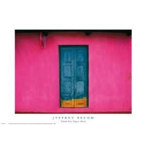 Jeffrey Becom Fachada Rosa, Teopisca, Mexico 27x19: Home