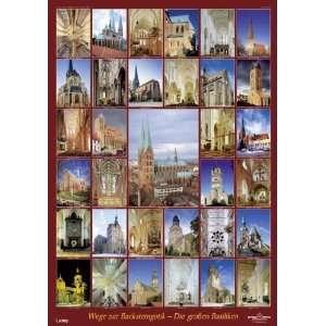 Plakat Wege zur Backsteingotik   Die großen Basiliken