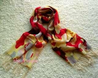 Fashion Floral Prints Wool Scarf Shawl Wrap Leopard Zebra Stripe Many