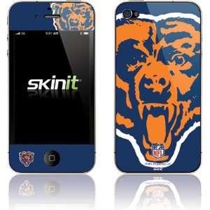 Chicago Bears Retro Logo Flag skin for Apple iPhone 4 / 4S