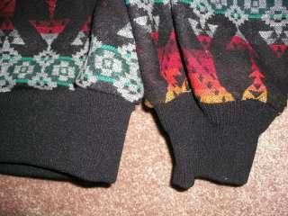 Pendleton High Grade Western Wear Wool Indian Blanket Print Hood