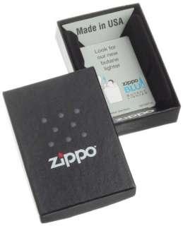 Genuine New USA Zippo Black Ice Cigarette Lighter Windproof Lifetime