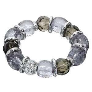 Fiorelli Glass and Crystal Beaded Bracelet Fiorelli Jewelry