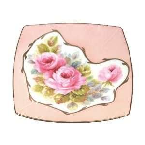 Limoges Porcelain 9 Square Fine China Plate