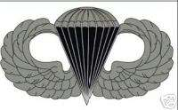 US ARMY PARACHUTE JUMP WINGS DECAL